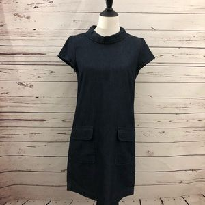 Zara denim dress.